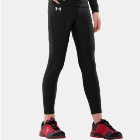 52414837cc Under Armour Bottoms | Youth Coldgear Compression Leggings | Poshmark